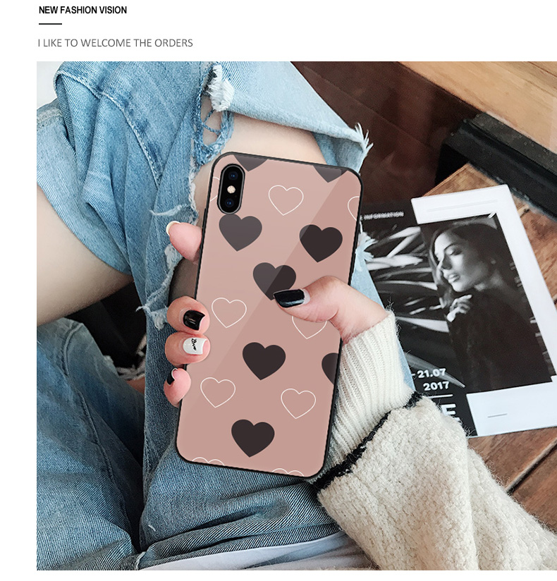 中國代購|中國批發-ibuy99|适用于苹果iphone手机壳11x女11promax玻璃xr硅胶11pro网红8plu