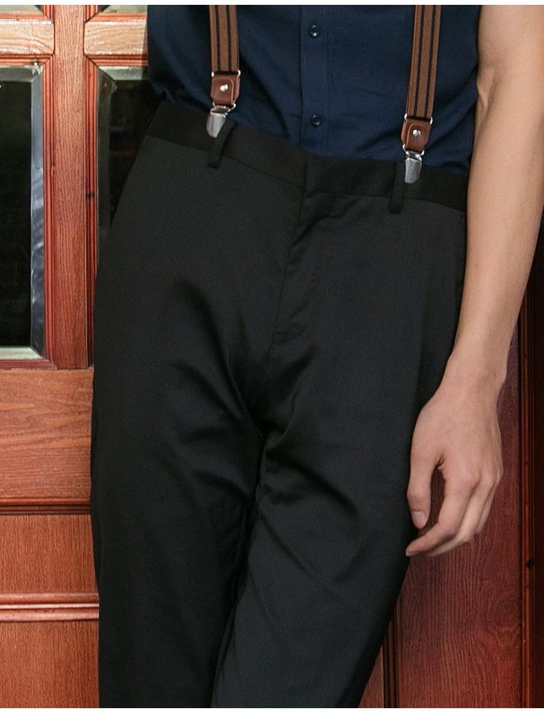 柒 thương hiệu quần nam mùa xuân và mùa hè phần mỏng của nam giới kinh doanh thời trang quần tây giản dị phù hợp với quần quần nam