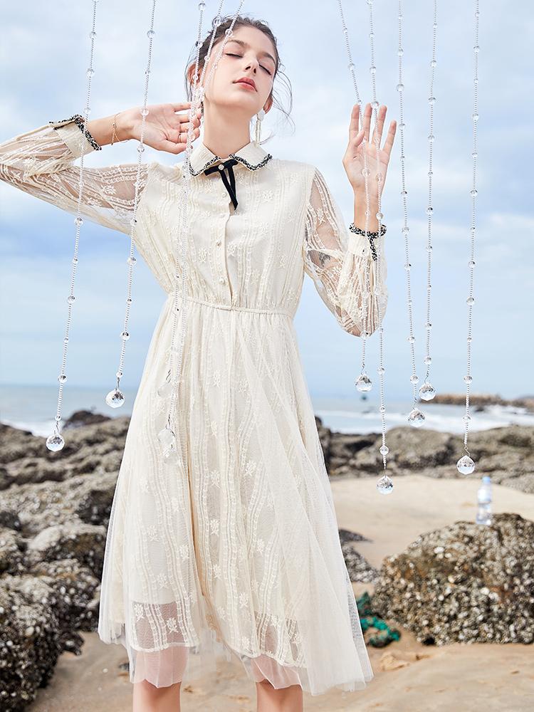一款好看的仙女裙,即温柔又知性!