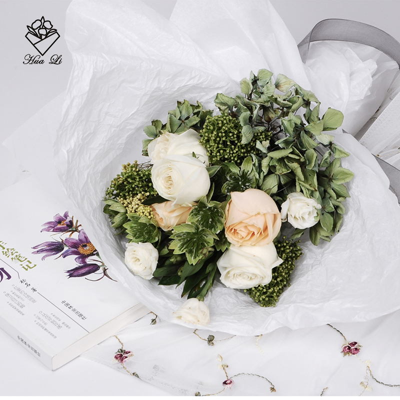 USD 7.79] Sydney paper lined paper flowers gift wrapping material ...