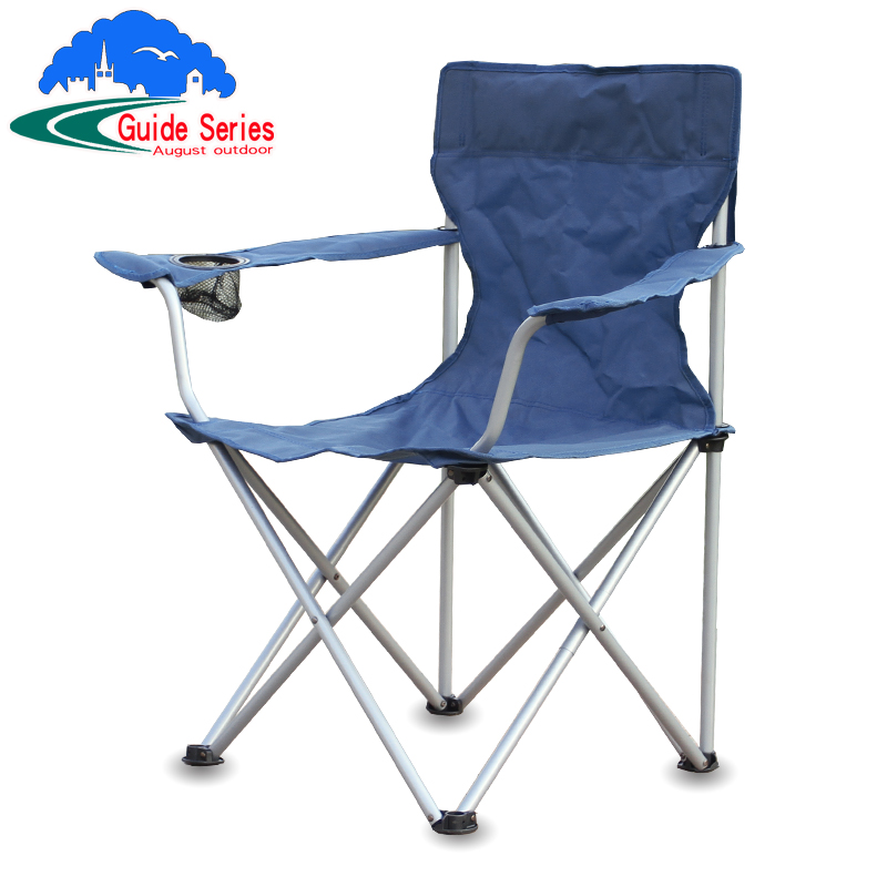 An Wei Grid Outdoor Bearing 210 Pounds Of Bold Armchair Folding Chair Portable Fishing Beach