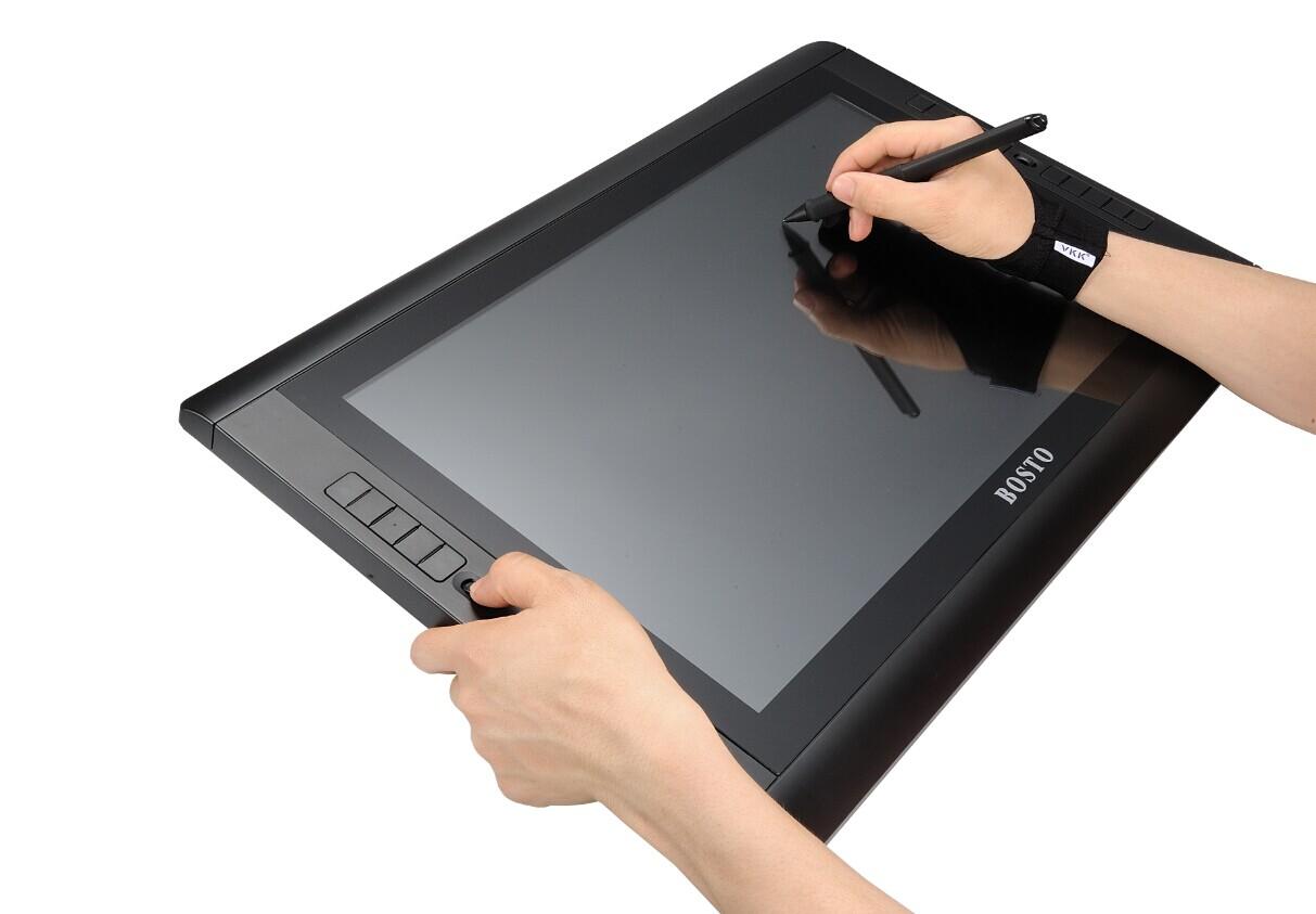 Планшет Магазин босто 22ux узнал через перьевой дисплей 22-дюймовый IPS HD-экран с ярлыками бесплатная доставка