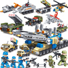 LEGO military special police puzzle assembled children 10 toys 7 boys 3-6 year old girl 12 years old