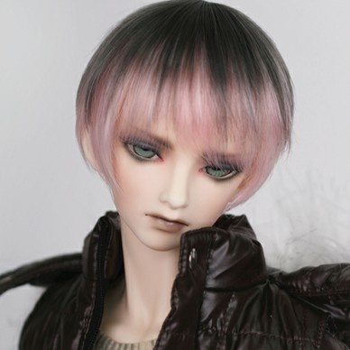 taobao agent Uncle 1/3 1/4BJD/SD Doll Wig 3 points 4 points gradient color face male short hair imitation official hair-FA51