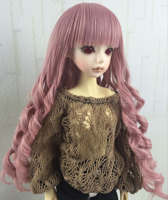 taobao agent 1/3 1/4BJD/SD humanoid doll doll wig 3 points 4 points instant noodle roll medium long doll baby hair-GB08