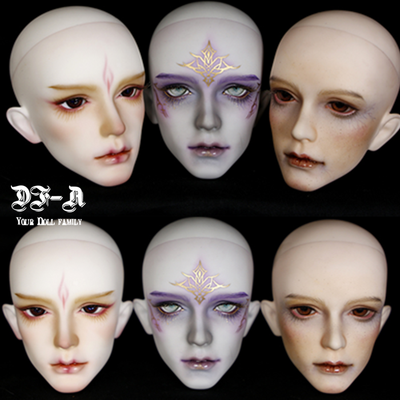 taobao agent DF-A BJD/SD male baby head 3 points special offer uncle baby makeup practice single head makeup practice hand baby head-Su Su