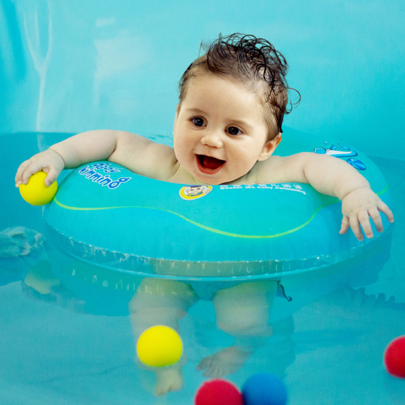 Dr. Ma\'s circle baby swimming ring children\'s waist ring baby floats