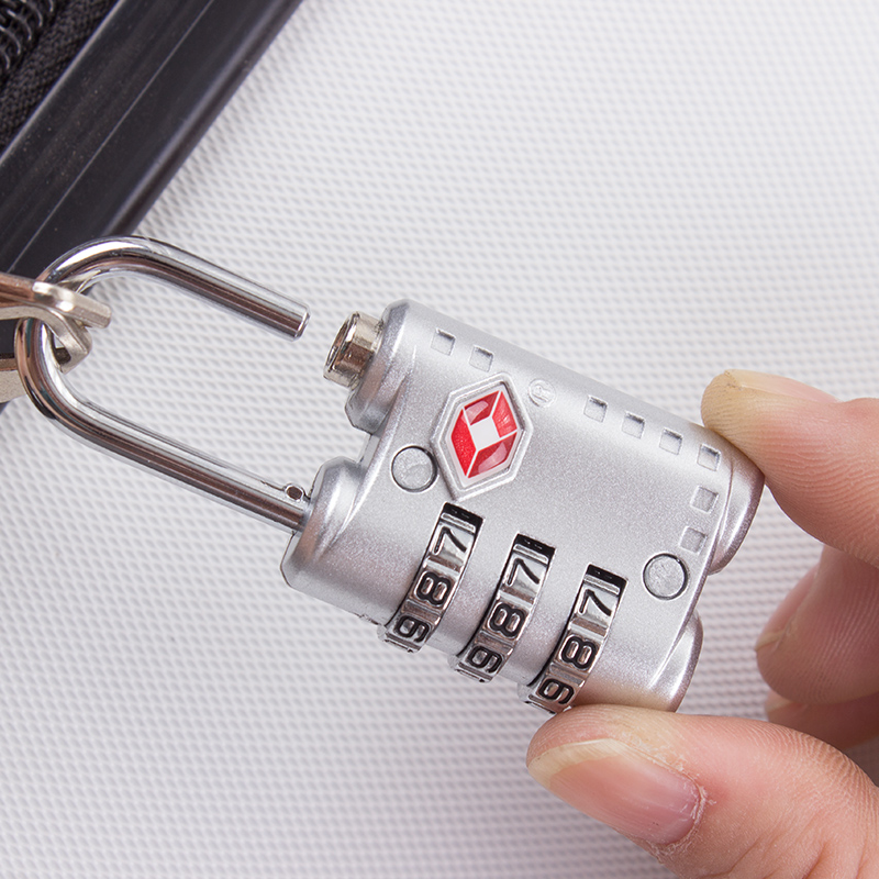 [海关锁密码锁挂锁防盗锁箱] пакет [锁 ] металлический [ tsa拉杆旅行箱锁旅行锁] бесплатная доставка по китаю