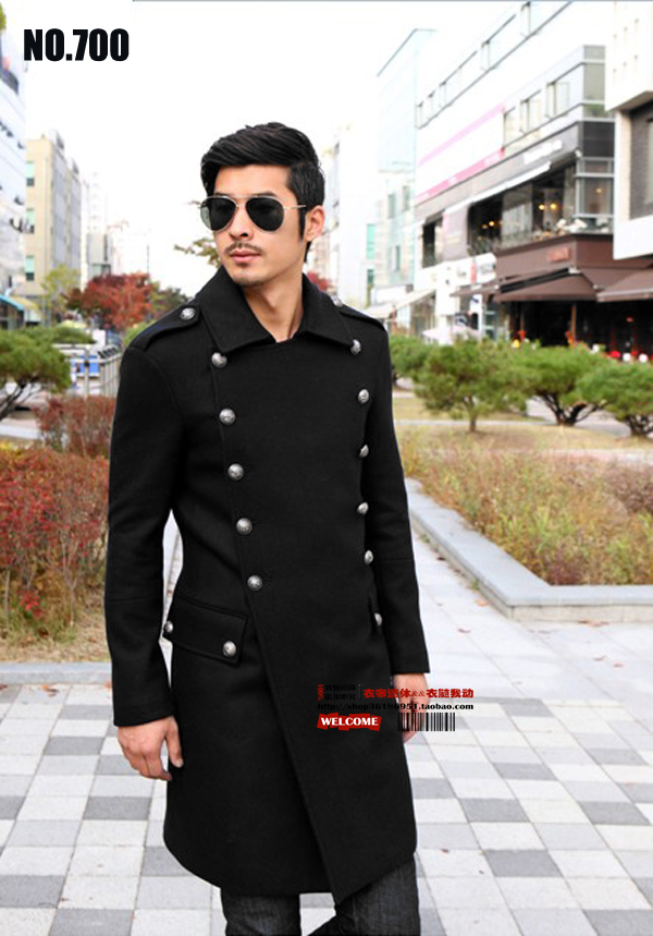 Aliexpress.com : Buy S 6XL ! classic woolen trench coat male ...
