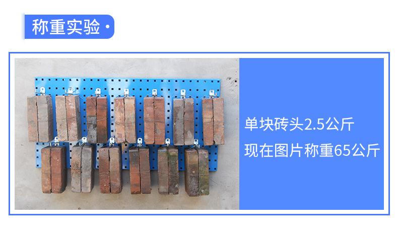 工具收纳墙挂板挂钩车间维修工具架物料架展示挂板挂钩孔板洞洞板