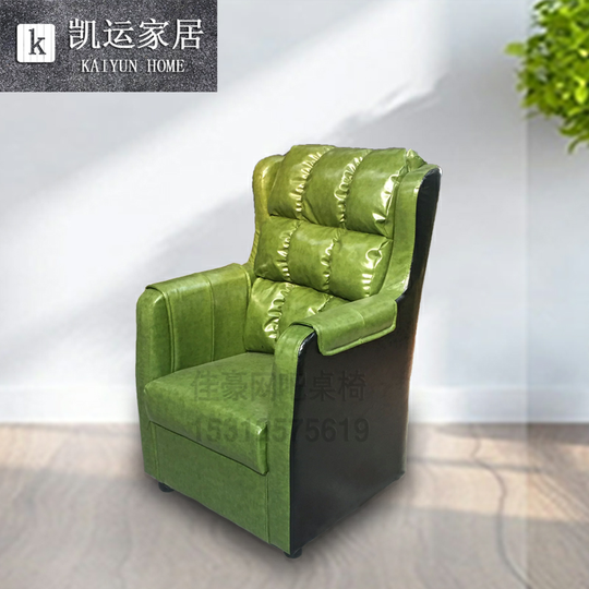 Internet cafe table and Chair Net coffee computer table chair set home office electrical tight desk single sofa customizable