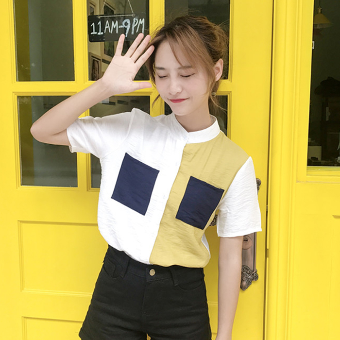 衬衫女长袖百搭雪纺衫宽松韩版修身显瘦2017秋装新款女装衬衣上衣