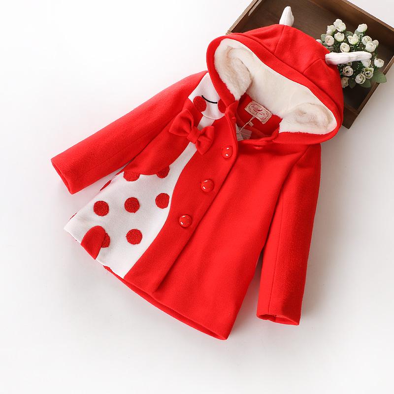 áo Khoát Màu đỏ Dành Cho Bé Gái đáng Yêu Mua Bán Sỉ Lẻ Order