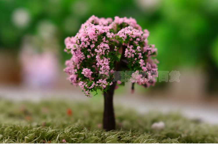 Usd 408 9 9 moss micro landscape ornaments fleshy decorations maple height 6 5cm pink flower tree height 4cm ficus fruit tree trumpet ficus fruit tree trumpet ficus fruit tree trumpet pine tree trumpet pine tree mightylinksfo