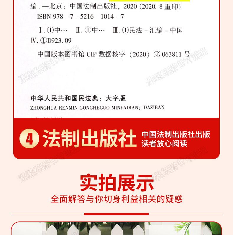 中华人民共和国民法典+法律常识+经济常识 图7
