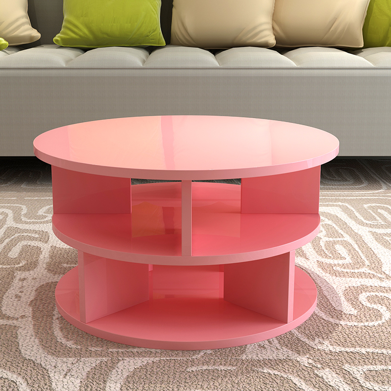 USD 26.97] Coffee table simple and modern Nordic round creative ...
