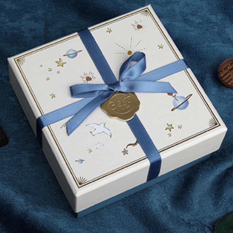 方森园礼品盒生日男女朋友网红口红空盒子小号精致礼物包装盒大号