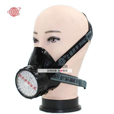 地球2001防毒口罩 喷漆化工防甲醛农药消防面具 上海跃丰劳保口罩