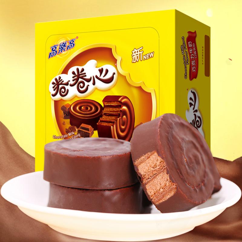 高乐高 卷卷心 巧克力蛋糕 25gx24枚