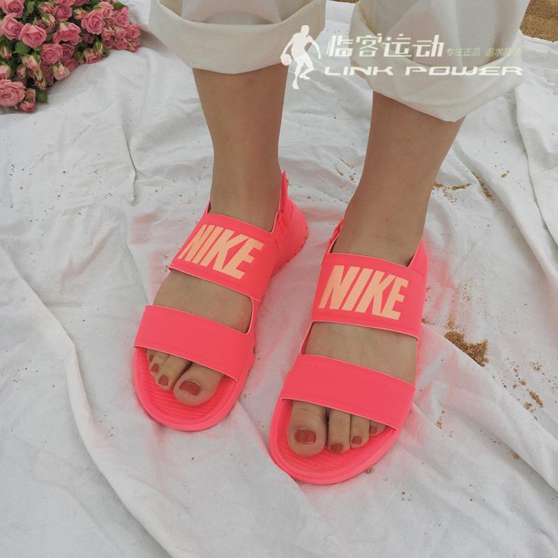 super popular a6fb8 760d9 耐克 WMNS NIKE TANJUN SANDAL字母忍者女款凉鞋882694-001 600 - SGshop
