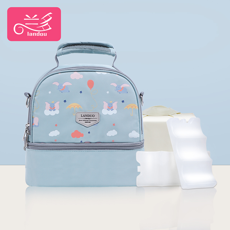Lake Blue Elephant [single Bag + Liner Bag + 2 Pieces Of Blue Ice]