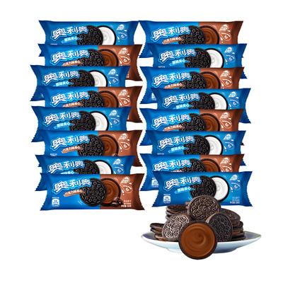 奥利奥夹心饼干原味巧克力味58g*16