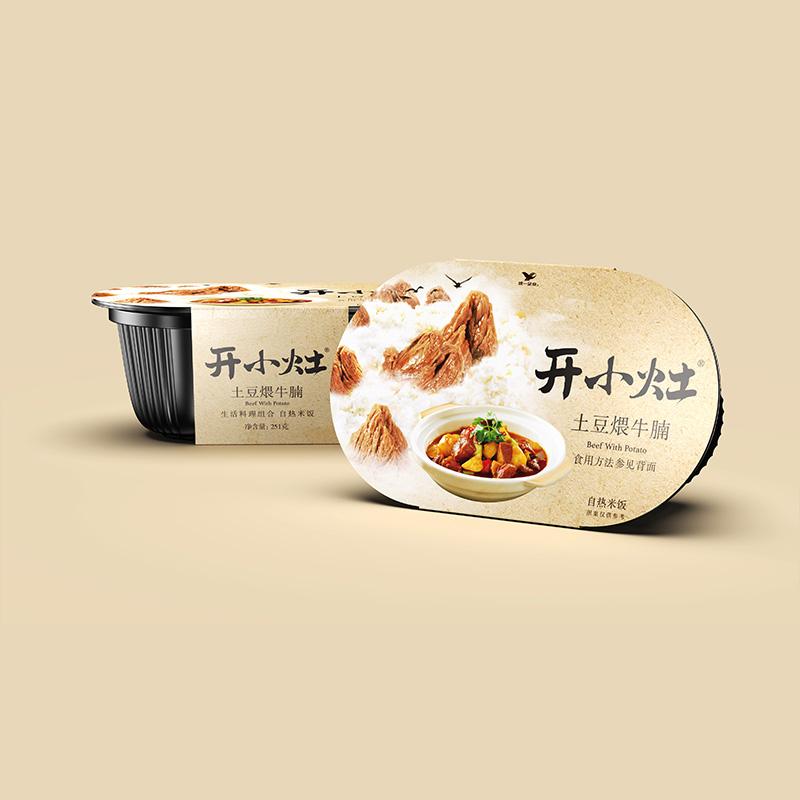 【拍2件】统一开小灶土豆牛腩饭2盒