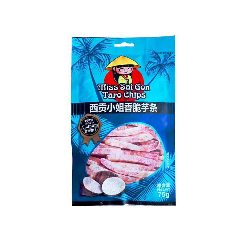 西贡小姐越南进口芋头条75g办公室休闲网红零食下午茶