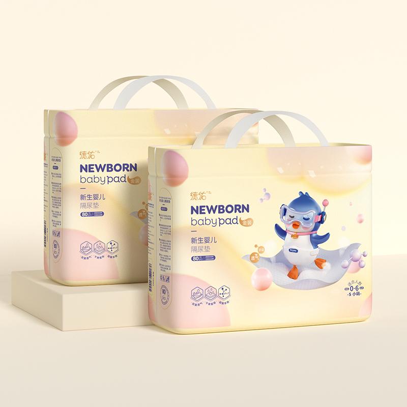 德佑婴儿隔尿垫一次性防水透气尿垫新生儿护理垫尿片尿布垫巾