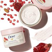 Dove多芬 石榴籽和乳木果風味冰激凌身體磨砂膏298g*2件