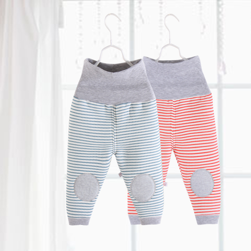 Autumn and winter children s warm pants belly pants baby pants boys and girls  cotton high waist f48fa4650