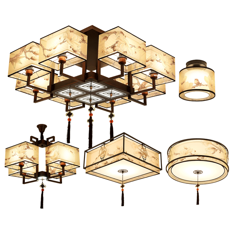 Usd 27736 living room light rectangle new chinese ceiling light lightbox moreview aloadofball Choice Image