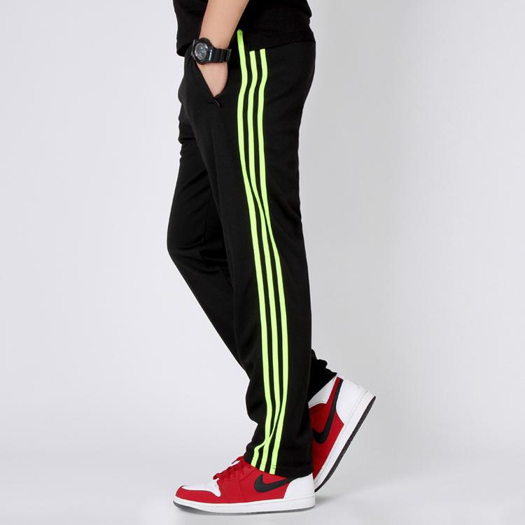 秋季健身运动跑步裤子同款男女棉薄款康宝莱搭配加大码长裤团队