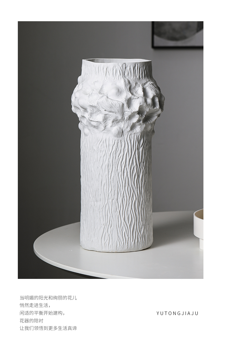 Rain tong household feast to admire the flower implement decoration ceramic vase between sitting room light key-2 luxury villa example place adorn article