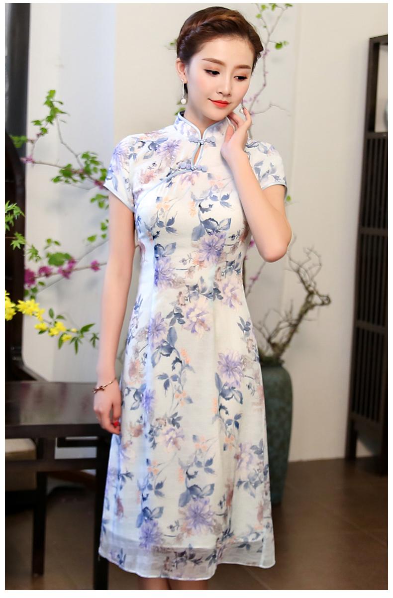 中国风格改良新颖旗袍  (歌曲:寻找仙女湖*12首)