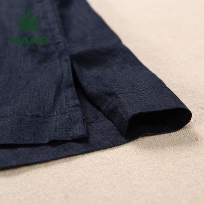 Hanp han ma shi người đàn ông giản dị của nam giới thường dài tay áo sơ mi thời trang áo sơ mi mùa hè kinh doanh bình thường hàng đầu áo sơ mi nam big size Áo