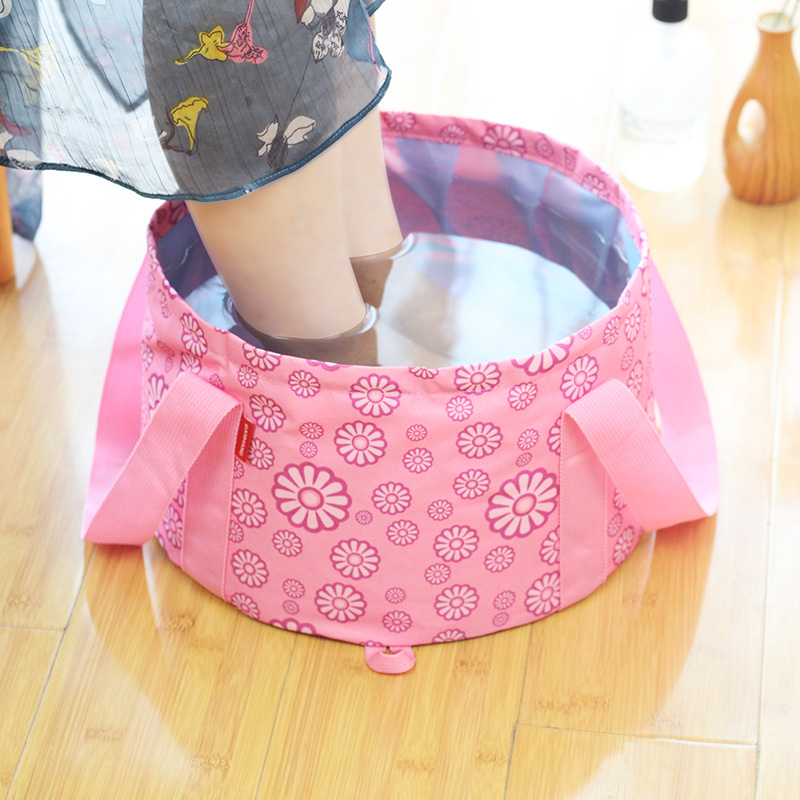 USD 10.40] Portable collapsible basin travel Bubble Bag large ...