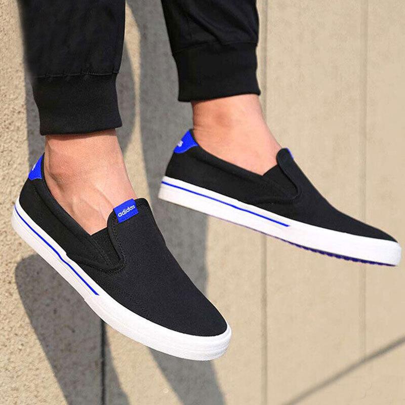 特惠款  阿迪达斯adidas 男 懒人鞋 板鞋  网球鞋 AW3900