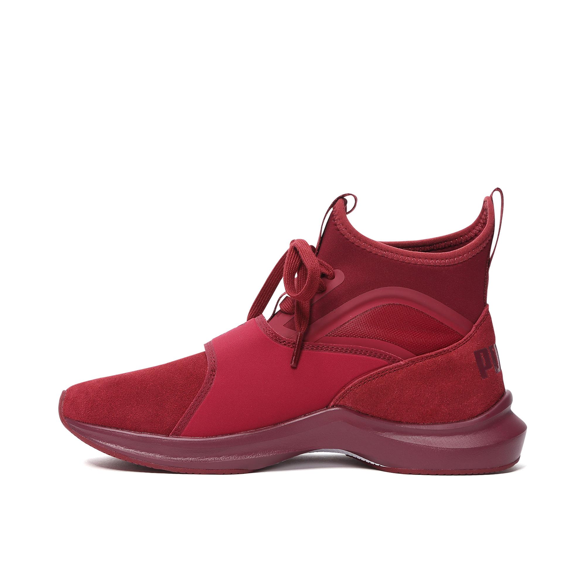 5a415c7b3c3 PUMA Hummer Official Women s Training Shoes Phenom SUEDE ...