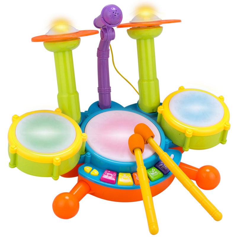 【аккумулятор】Динамический джазовый барабан + микрофон
