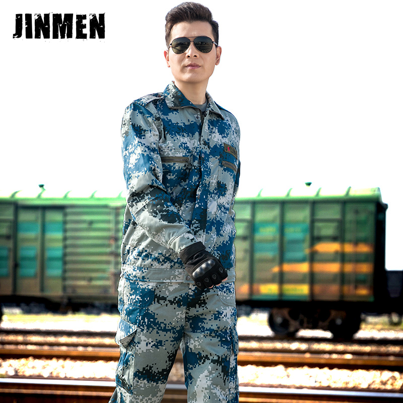 Camouflage suit men spring and autumn Second Army female Special Forces field uniforms 54228417512979