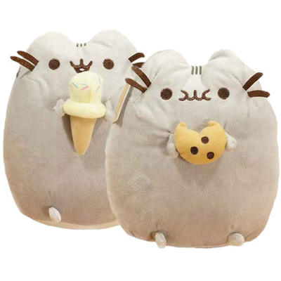 Cute 15cm plush fat cat toy for kids and girl friends gift birthday party gift