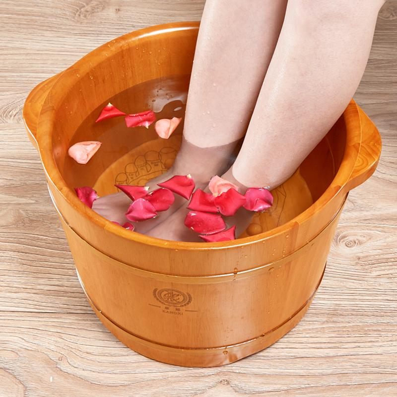 Kangxi soaking foot barrel foot bath barrel foot barrel acupressure ...