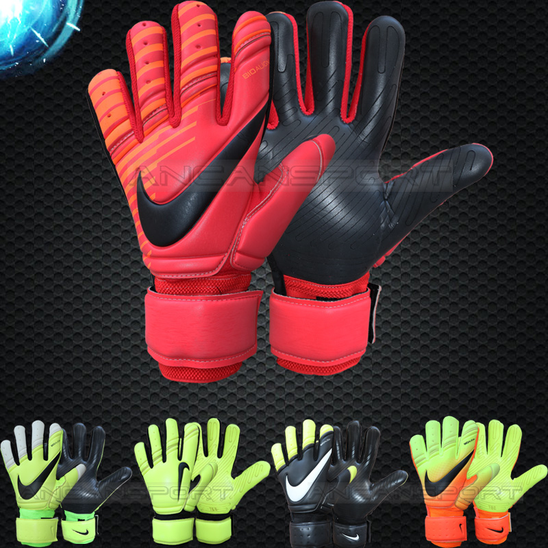 Anker clearance day delivery game training football goalkeeper goalkeeper  gloves thickened latex no finger 2380cee29