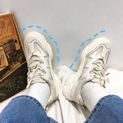 @方少男装 ins春季厚底休闲老爹鞋男士韩版青年百搭潮流运动鞋子