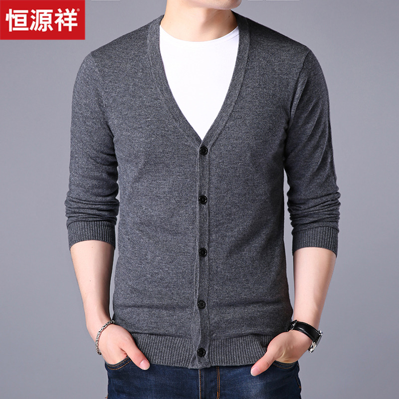 Usd 13805 Hengyuanxiang Pure Sweater Male Korean Loose Sweater