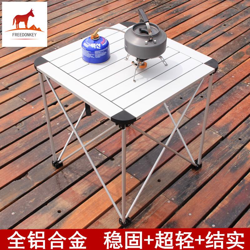 Новый полный алюминиевых сплавов складной стол сын на открытом воздухе портативный складной стол стул пикник стол сверхлегкий на машине тур барбекю стол