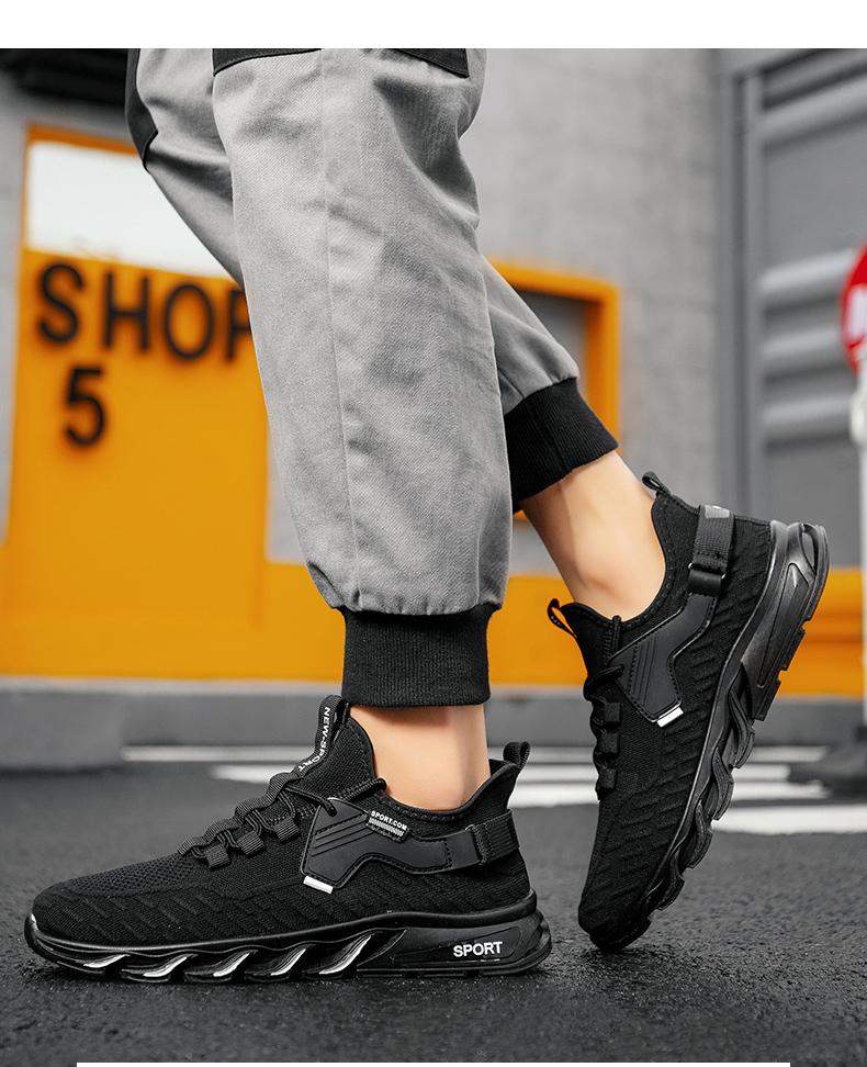 Bếp chống nước chống trượt đầu bếp giày nam mùa hè thoáng khí lưới thể thao làm việc đen mỏng giày boom có thể tin được