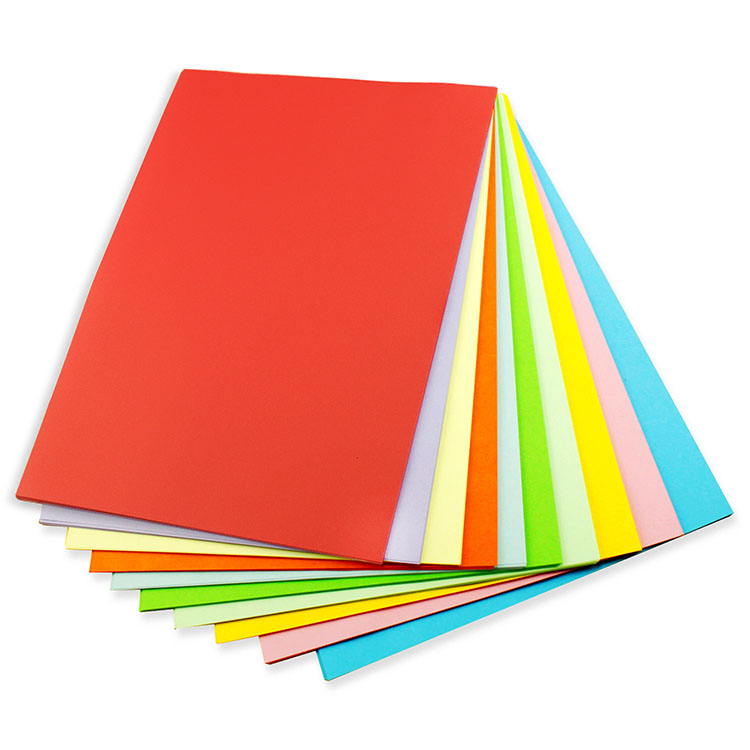 USD 6.21] Colored paper origami material Color a4 printing paper ...