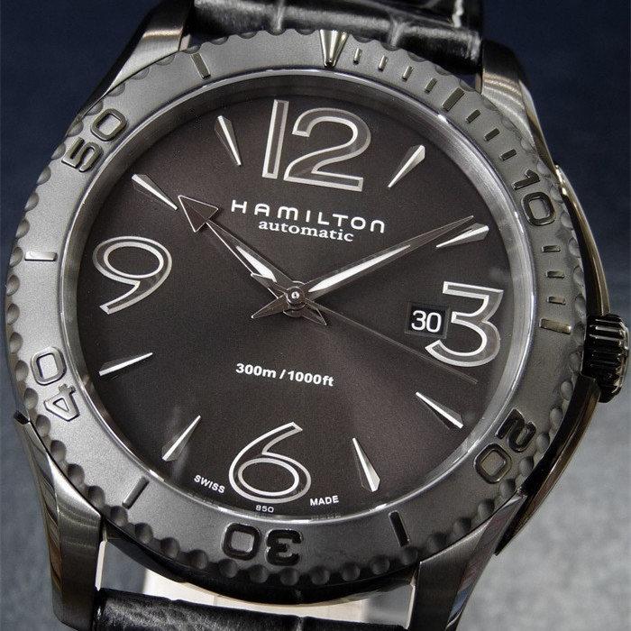 海外代购Hamilton汉密尔顿爵士系列手表男表H37785685自动机械表